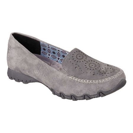 Skechers Women's Relaxed Fit Bikers Traffic, Charcoal Expressway, Size 6.0