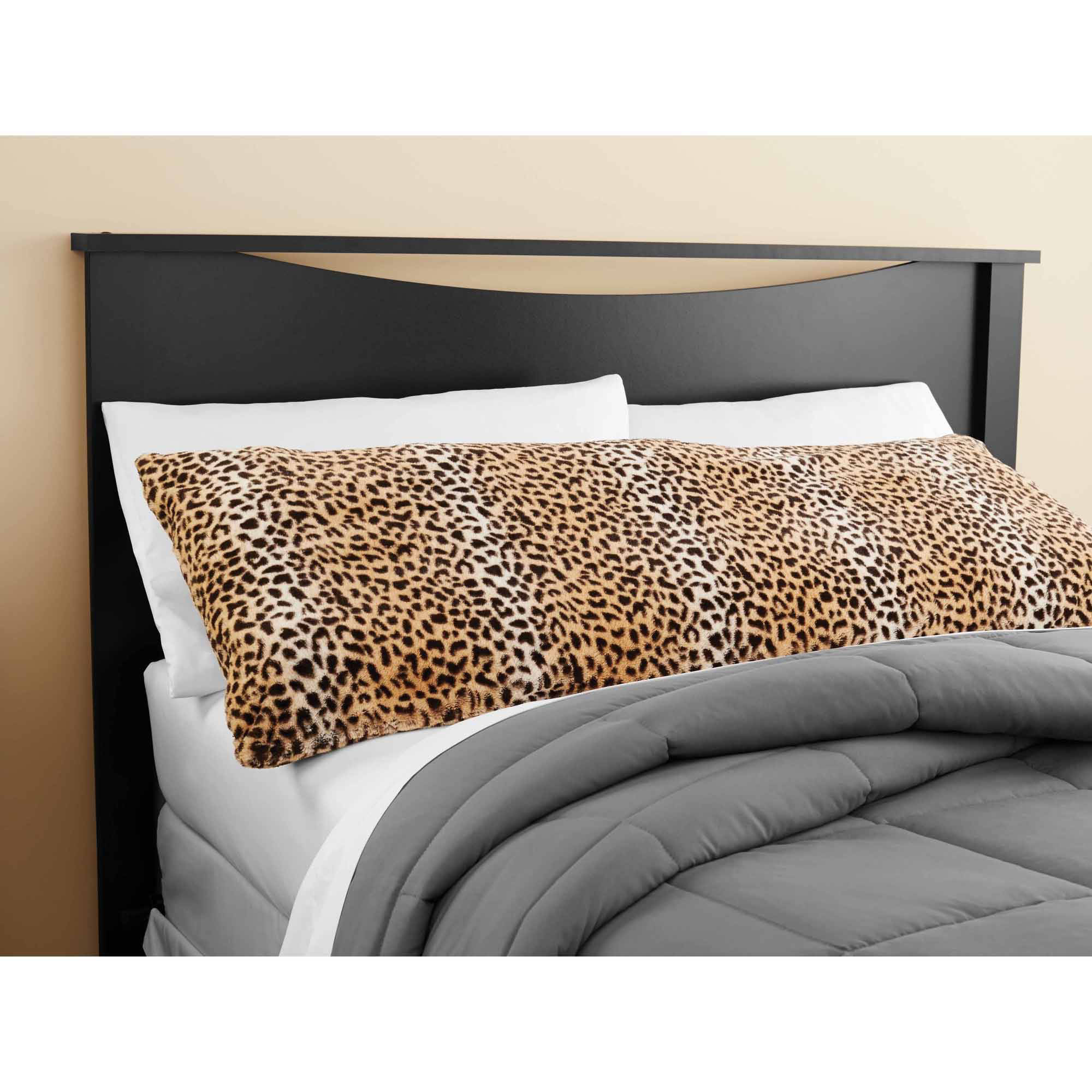 Click here to buy Mainstays CHeetah Fur Body Pillow Cover by Idea Nuova.