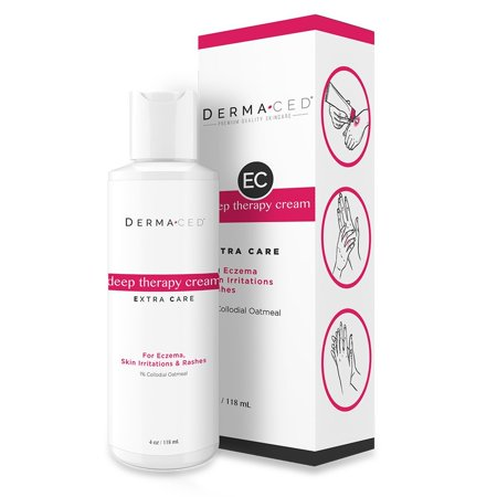 Deep Therapy Cream Ec For Fast Eczema And Psoriasis Support With Colloidal Oatmeal  1