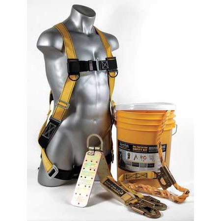 Guardian Fall Protection Kit, Yellow 00815