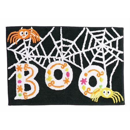 Midnight Market Halloween (Midnight Market Halloween Boo Spider Throw Bath Rug 20x30 Skid Resistant)