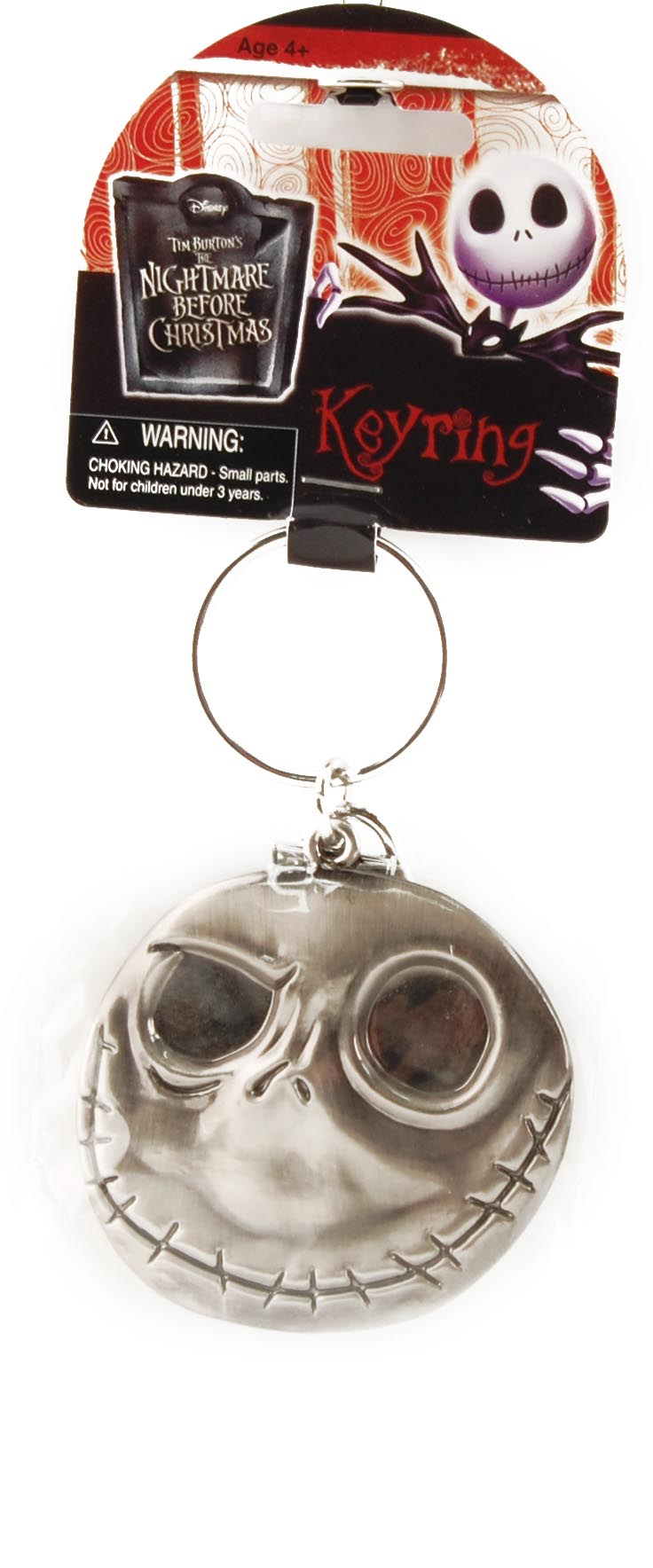 Disney Nightmare Before Christmas Good Day/Bad Day Key Ring