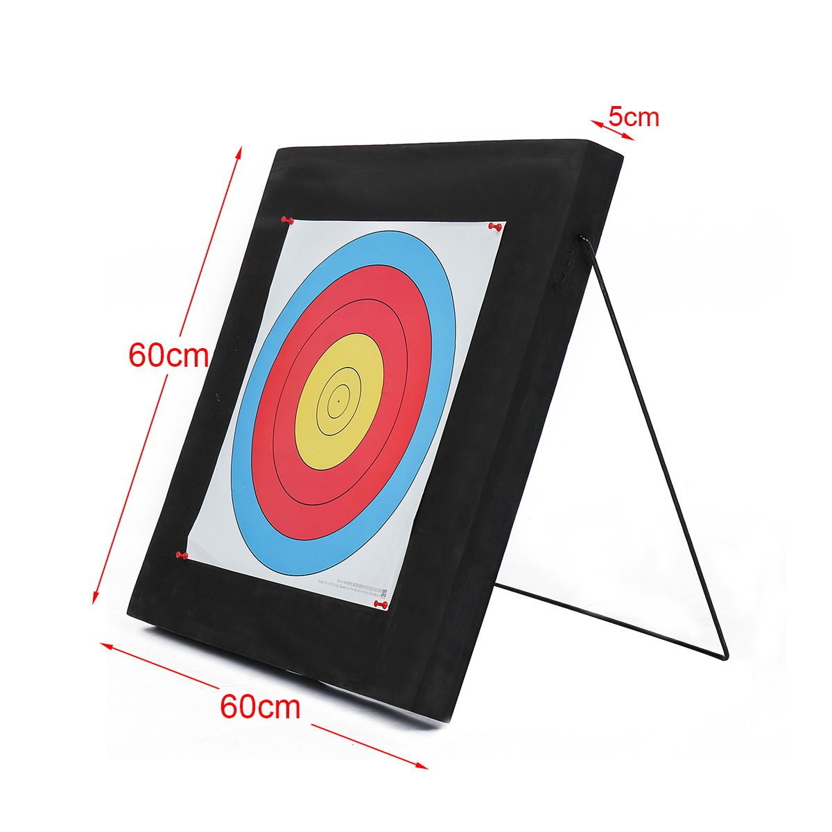 60*60cm Archery Target EVA Foam Board Self Healing Compound Recurve Practice