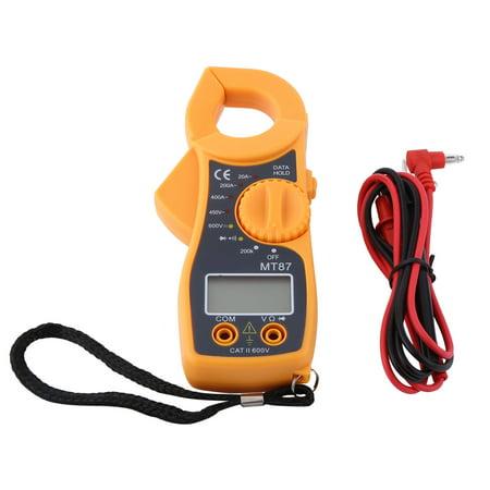 Digital Clamp Multimeter AC DC Voltmeter Ammeter LCD Ohmmeter Tester Meter
