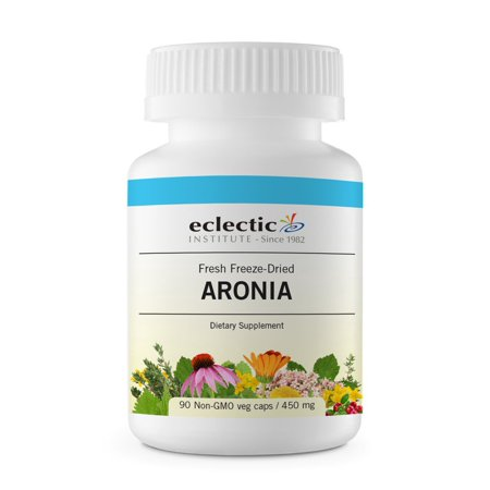 - Aronia Berry Freeze-Dried Eclectic Institute 90 VCaps
