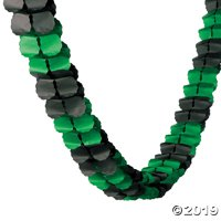 Green & Black Garland
