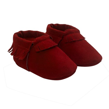 Enjoyofmine Baby Boys Girls Soft Bottom Tassel Toddler Shoes, Baby Pre-Walk Shoes Anti-slip Walking Shoes Casual Shoes
