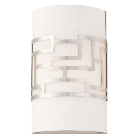 George Kovacs by Minka P195-084 1-Light Wall Sconce - Brushed Nickel - 6.5W in.