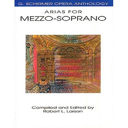 G Schirmer Bass Baritone (Arias for Mezzo-Soprano : G. Schirmer Opera Anthology )