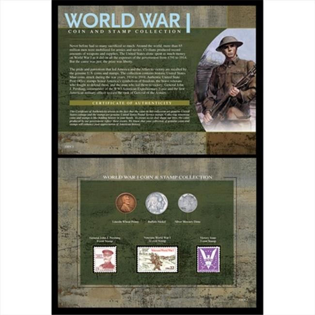 American Coin Treasures 1585 World War I Coin & Stamp Collection