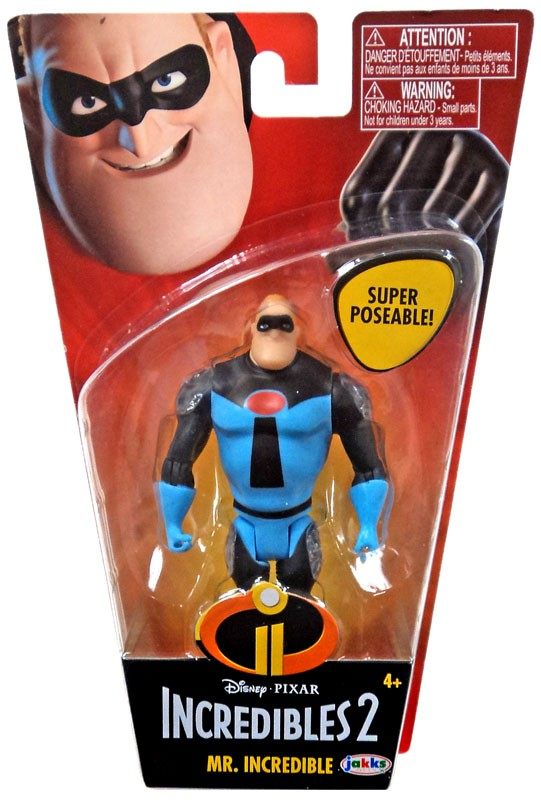 Incredibles 2 Super Poseable Series 2 Screenslaver Basic Action Figure