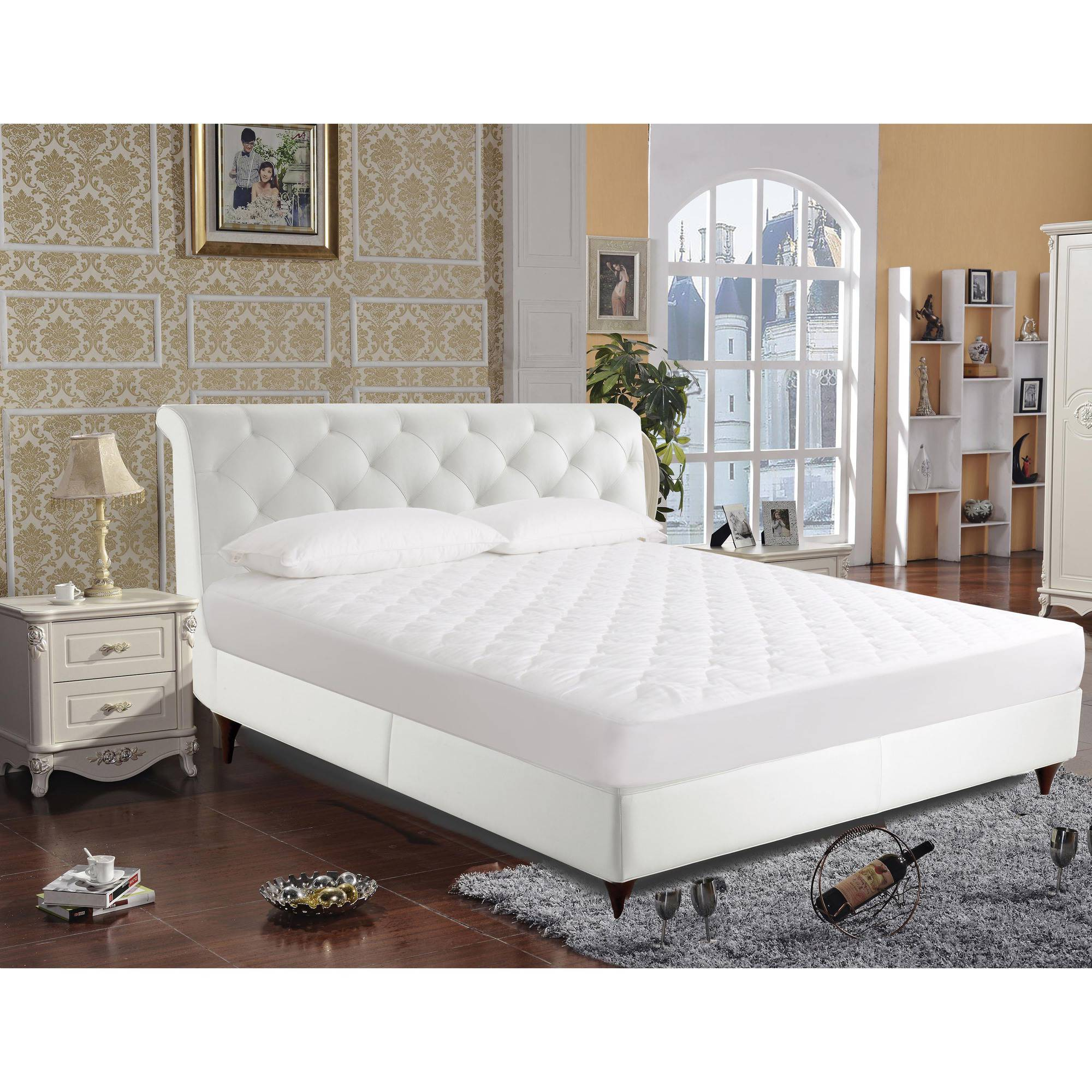 Quiet Comfort Waterproof Mattress Pad Walmartcom