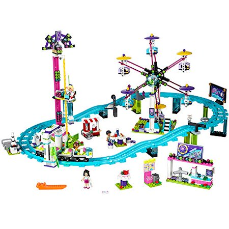 LEGO Friends Amusement Park Roller Coaster 41130 Toy for Girls and Boys](Minecraft Halloween Roller Coaster)