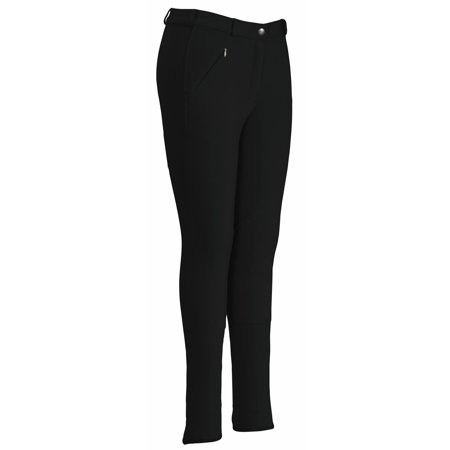 Sport Knee Patch Breeches - Ladies Ribb Lowrise Knee Patch Regular Breeches
