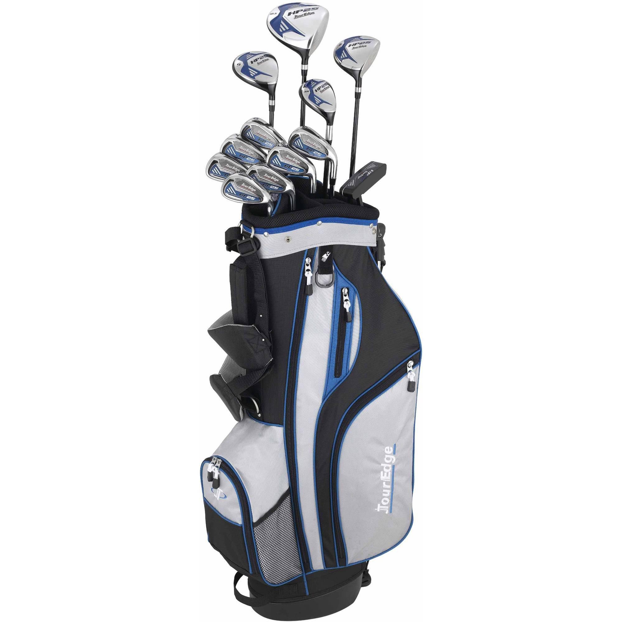 Tour Edge HP25 Men's Uniflex Plus Complete Set, Right Hand, Steel Shaft