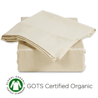 PURE Sheet Set Low Profile 300Ct-Color:Natural,Size:Twin