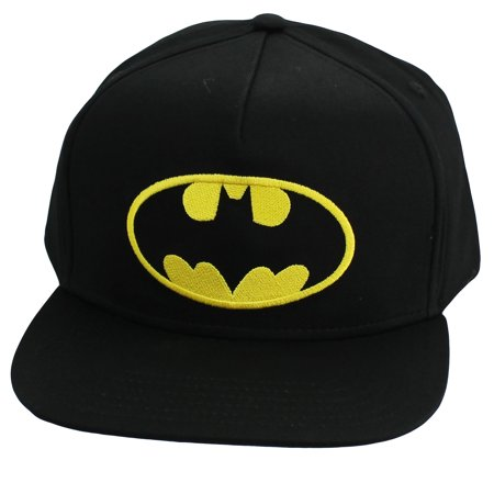 73c618ac85a74 Batman - Batman Hat Kids Baseball Cap Black Adjustable Ball Flat Brim Ball  Cap Youth 4-16 Years - Walmart.com