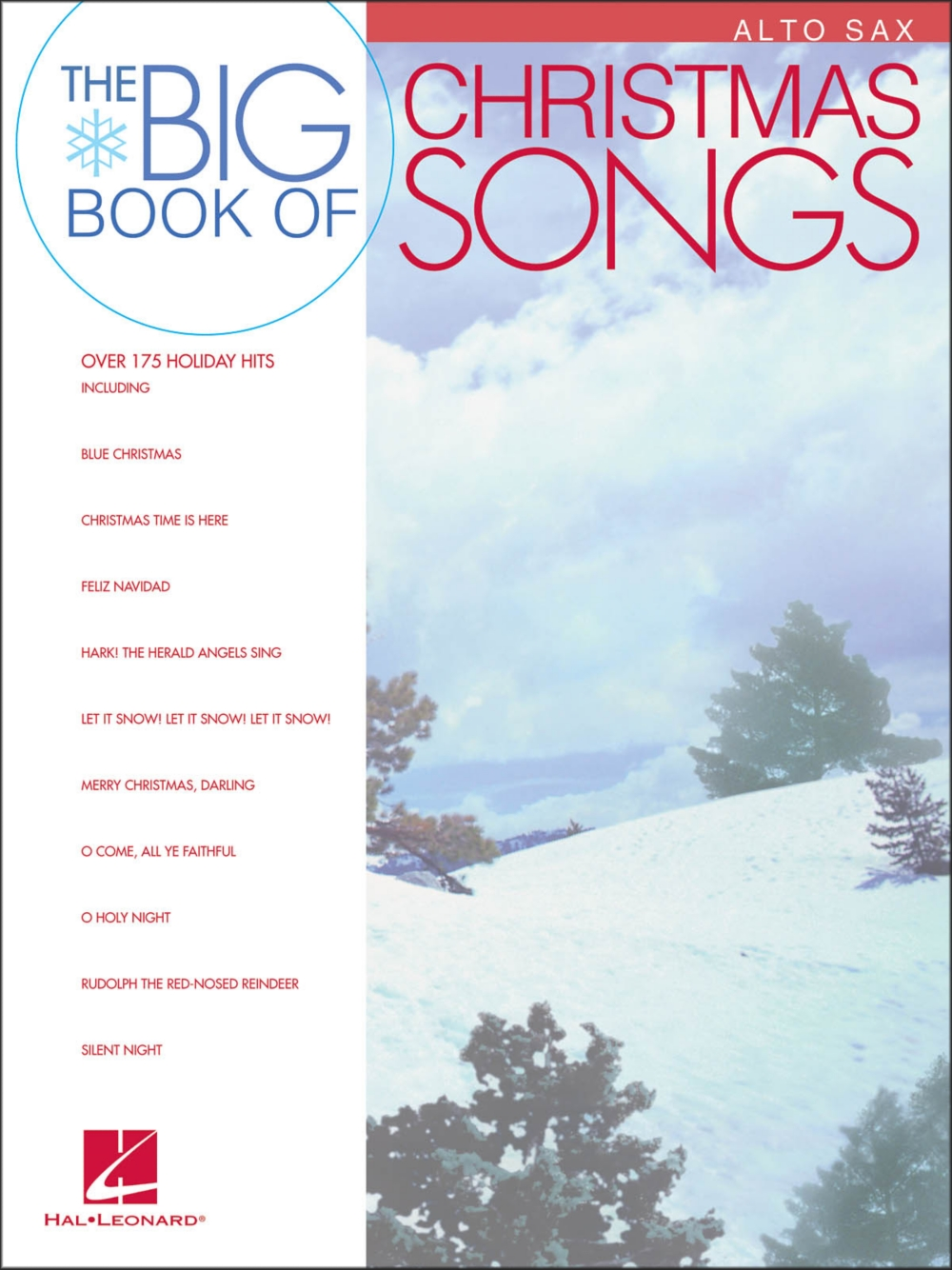 Hal Leonard Big Book Of Christmas Songs for Alto Sax by