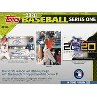 2020 Topps Series 1 Baseball WM Hanger Box- Includes 67 Series 1 MLB Baseball Trading Cards | 1 1985 Insert Card | 4 turkey Red 2020 Insert cards