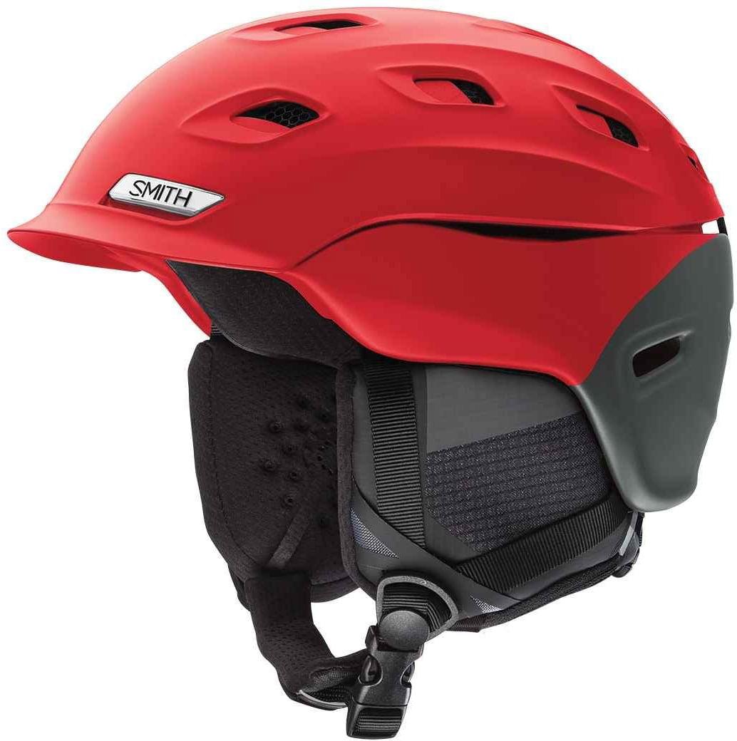 Smith Optics Vantage-Mips Ski Snow Helmet (Matte Fire Split Large) by Smith Optics