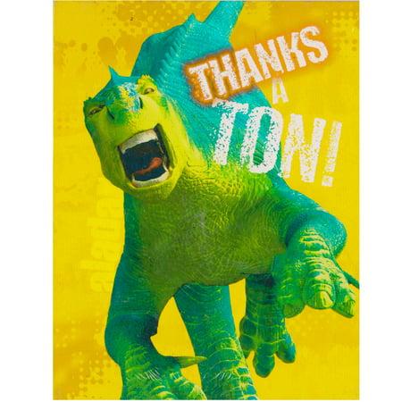 Dinosaur The Movie Thank You Notes w/ Envelopes - Thank You Movie
