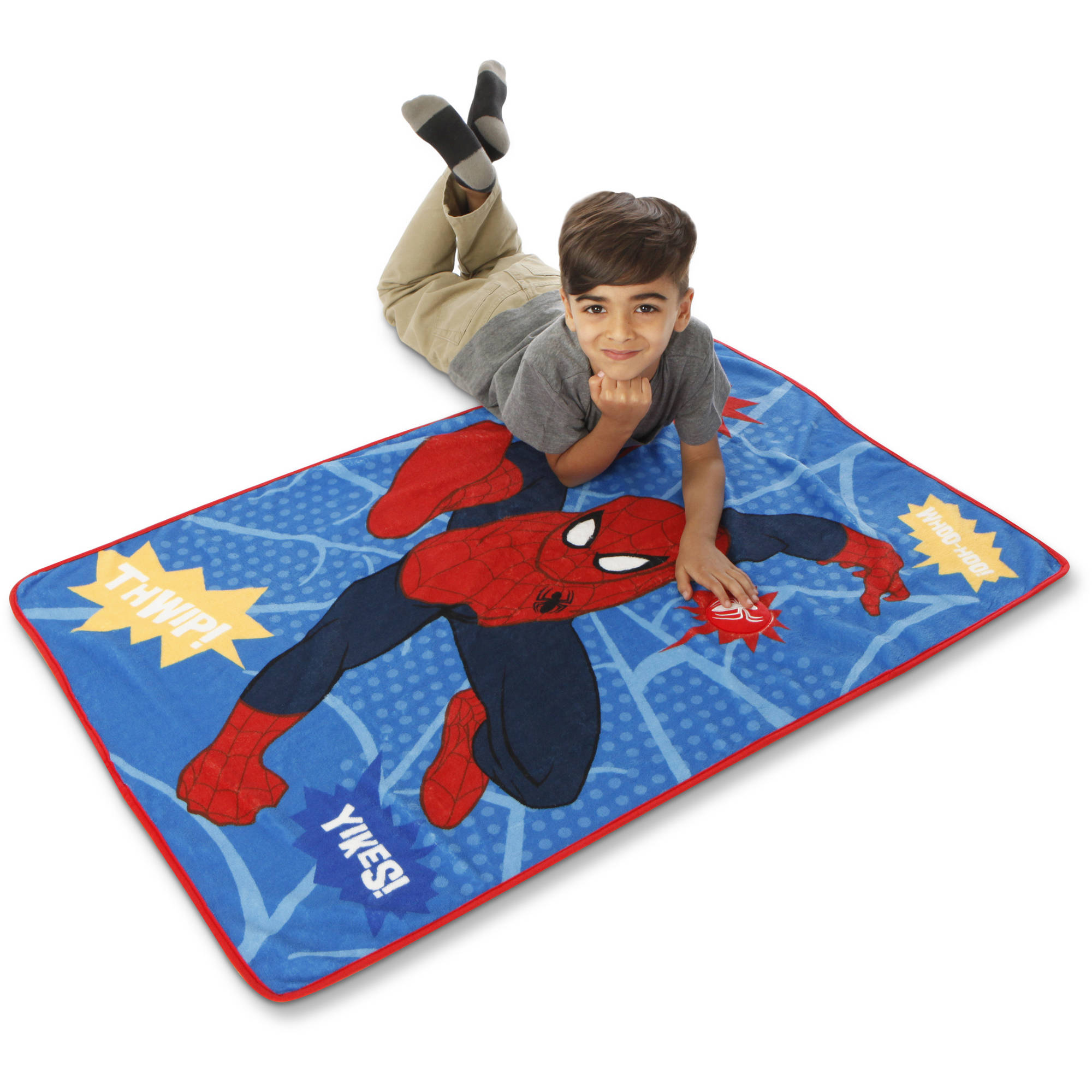 Marvel's Spider-Man Toddler Blanket with Sound