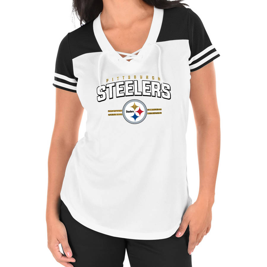 NFL Pittsburgh Steelers Plus Size Women's Basic Tee