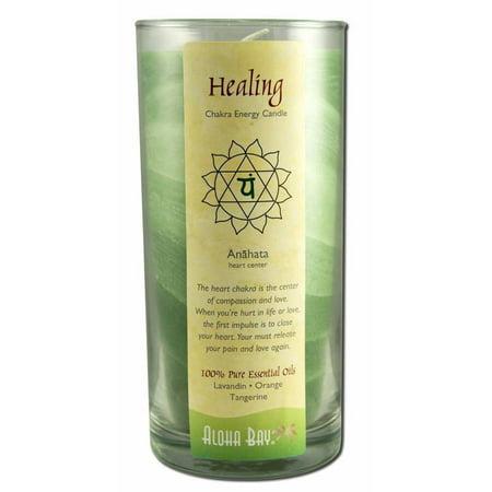 Aloha Bay Chakra Candle Jar, Healing, 11 OZ