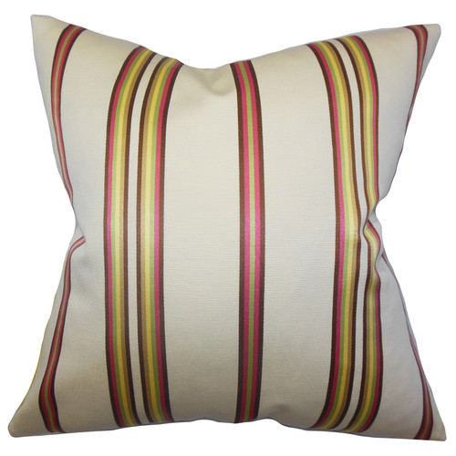 The Pillow Collection Hatsy Stripes Throw Pillow