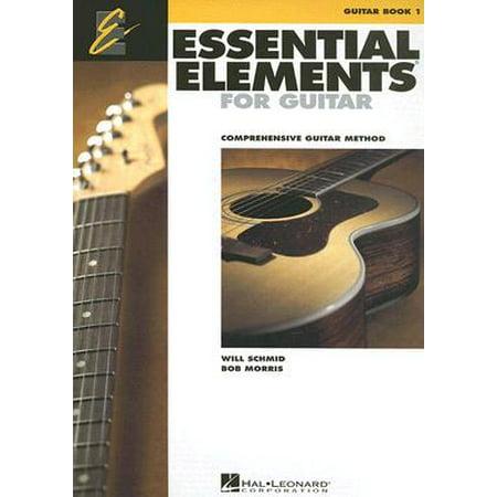 essential elements for guitar book 1 comprehensive guitar method. Black Bedroom Furniture Sets. Home Design Ideas
