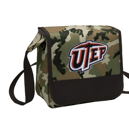 Camo Utep Miners Lunch Bag Shoulder Box