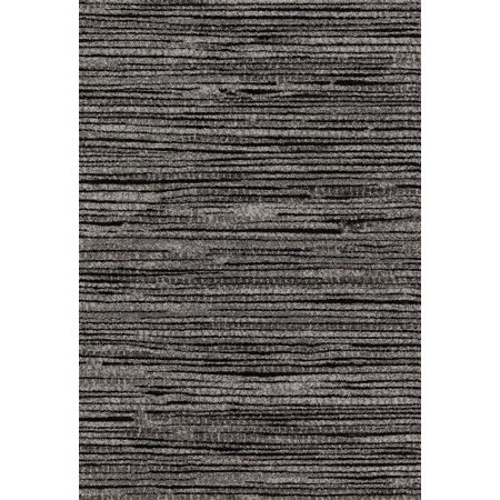 Transitional Emory Collection Area Rug in Grey-Black and Oval, Rectangle, Round, Runner Shape