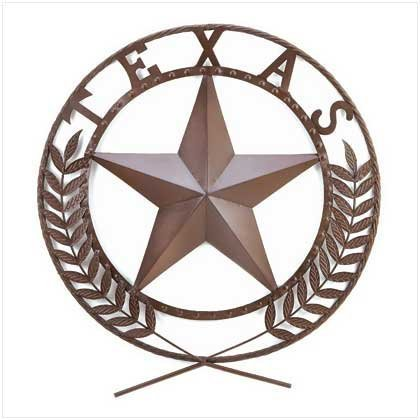 koehler Indoor Home Entry Decorative Accent Texas Star Metal Wall Plaque by Koehler
