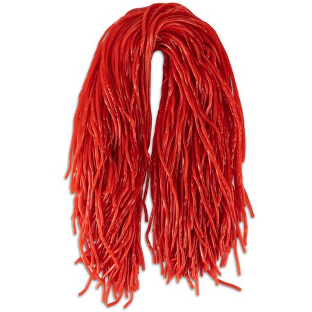 Strawberry Licorice Laces (Strawberry Extra Long Red Licorice Shoestring Laces 32 Oz)