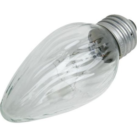 F15 Flame Bulb Philips 40W Medium Base Clear - Clear Appliance Bulb