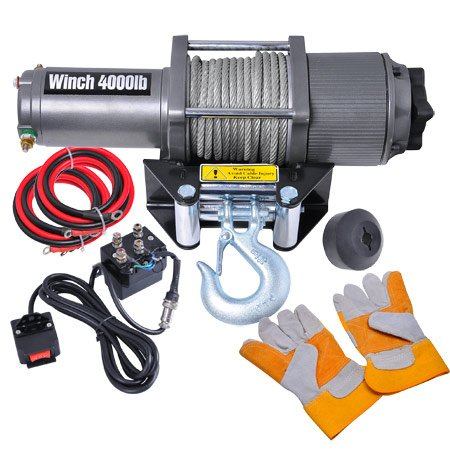 MEGA Car Truck Remote 4000 Electric Winch 12 Volt