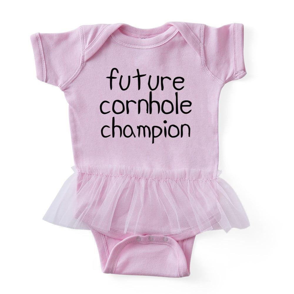 d75677c18c2b CafePress - Future Cornhole Champion - Cute Infant Baby Tutu Bodysuit -  Walmart.com