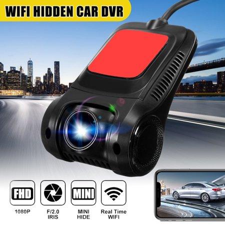 WiFi Car DVR Dash Camera Mini Hidden Video Driving Recorder