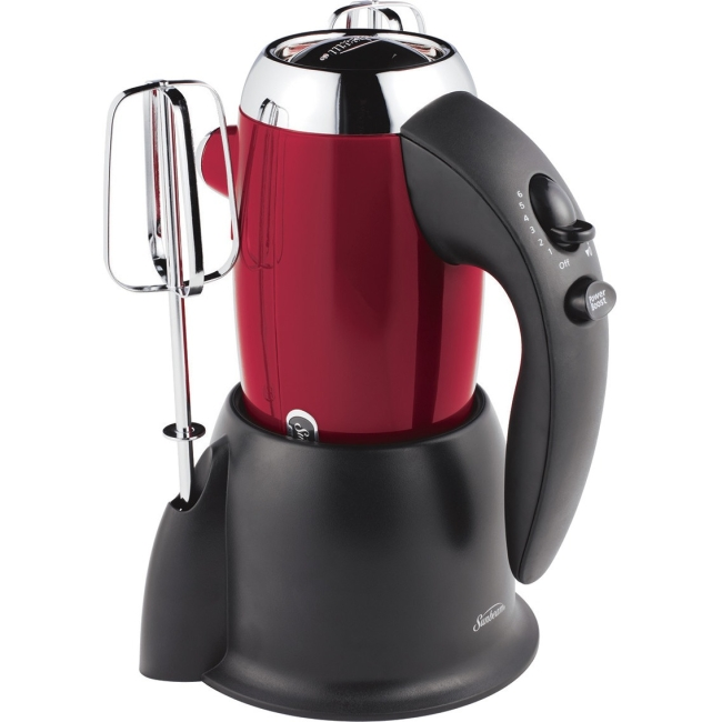 Sunbeam Heritage Series Hand Mixer, Metallic Red