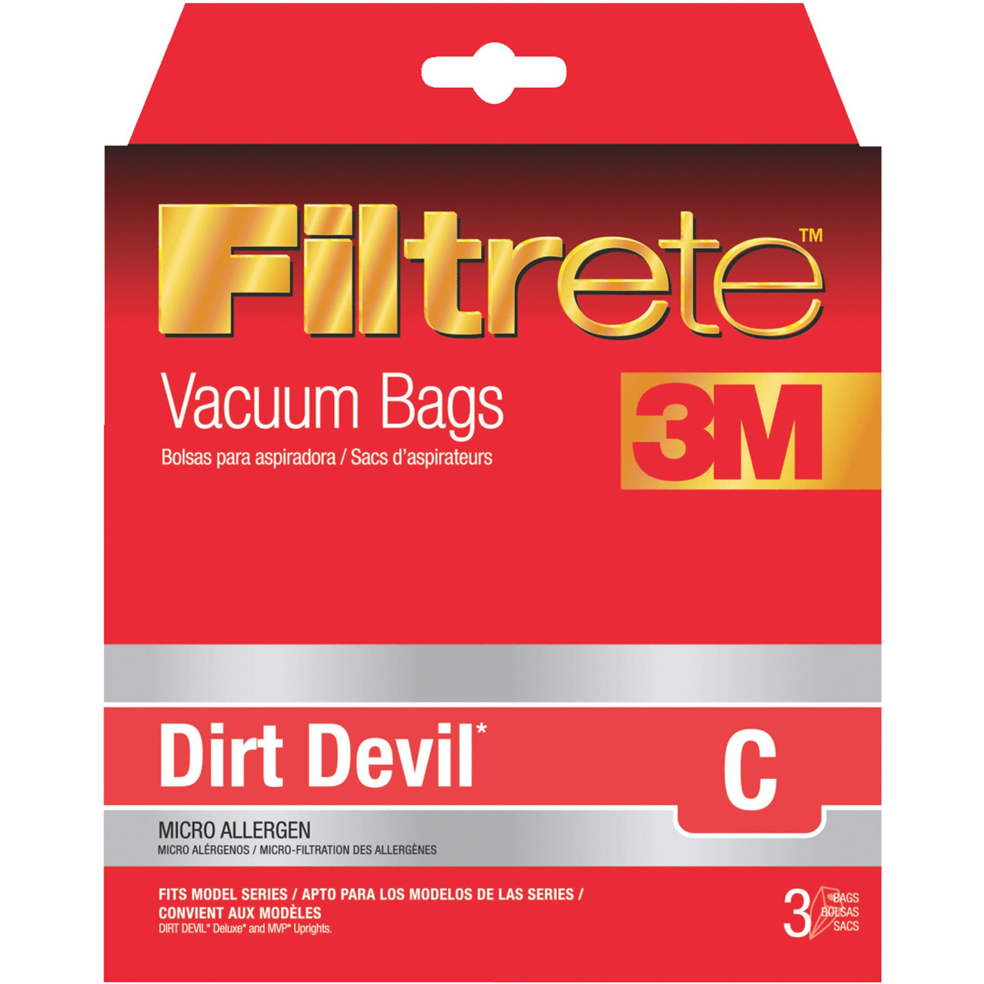 Filtrete Dirt Devil C Vacuum Bag