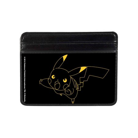 Weekend Wallet - Pokemon Animated TV Series Pikachu Outline Weekend Wallet