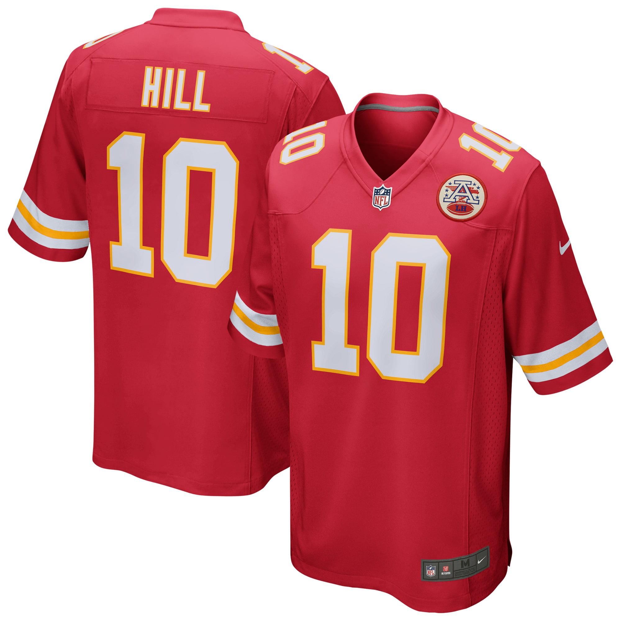 Tyreek Hill Kansas City Chiefs Nike Game Jersey - Red - Walmart ...