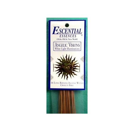 Escential Essences Incense Sticks - Angelic Visions - 16 Sticks - Escential Essences Cones