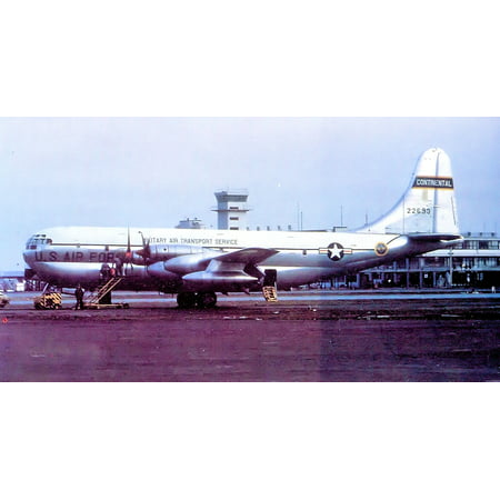 Laminated Poster 1700Th Air Transport Group Boeing Kc 97G 26 Bo Stratofreighter 52 2693  Kelly Afb  Texas 1952  Aircr Poster Print 24 X 36