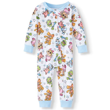 1 Cotton Baby Sleeper - Muppets Cotton footless pajama sleeper (baby boys & toddler boys)