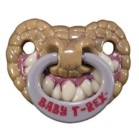 Billy Bob Teeth 90046 Baby T-Rex Pacifier - Halloween Pacifiers