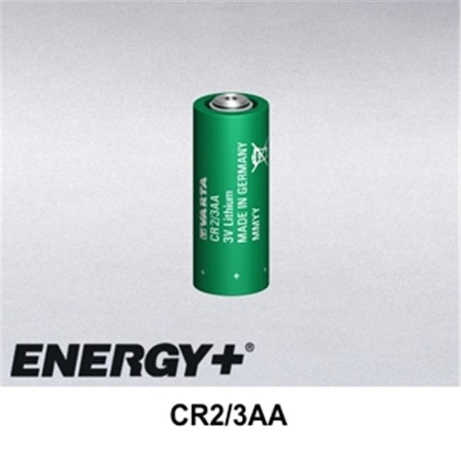 FedCo Batteries Compatible with  Varta CR2-3AA 3.0V 1350mAh 2-3 AA Size Lithium Cell For Consumer And Industrial Applications