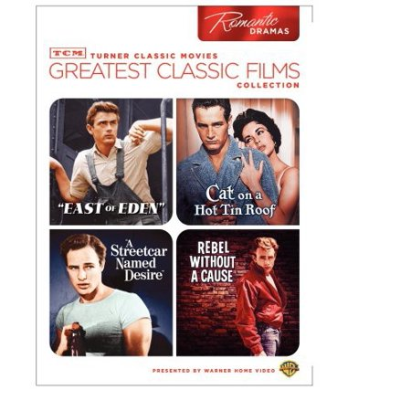 Greatest Classic Films Collection: Romantic Dramas - East Of Eden / Cat On A Hot Tin Roof / A Streetcar named Desire / Rebel Without A