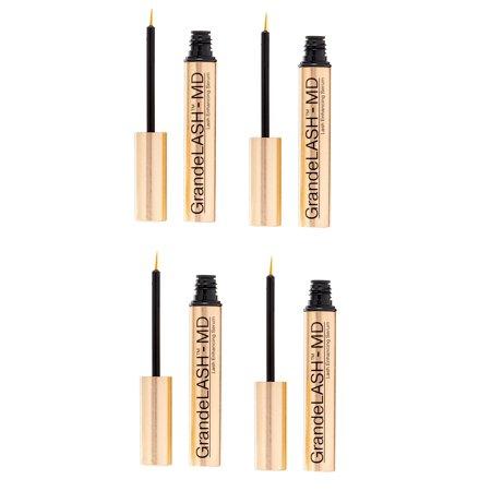 265e96550b9 Grande Cosmetics - GrandeLash MD 2mL Eyelash Formula 4 Pack - Walmart.com