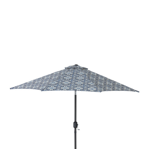 Pillow Perfect 9' Woodblock Prism Market Umbrella